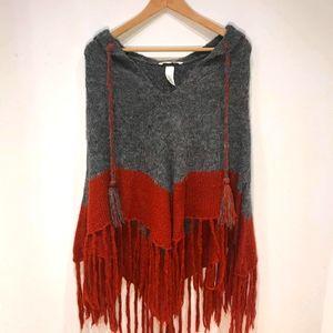 Beautiful knit poncho